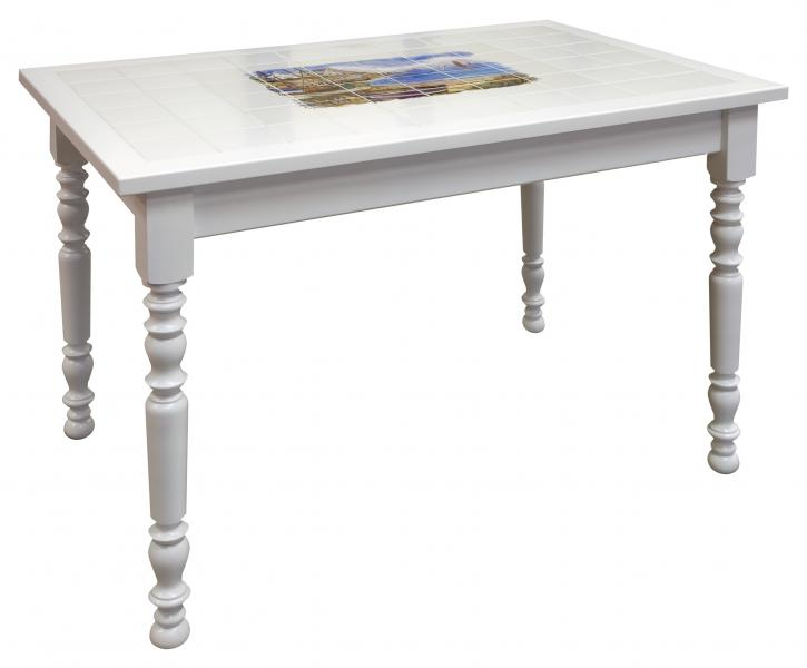 Table rectangulaire table rectangulaire carrelee for Meuble 90x60